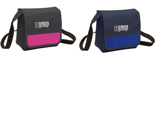 Cooler bag w/ embroidered logo, TALL_T