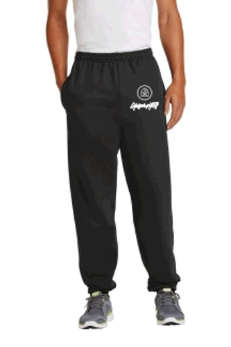 Cotton Pants, Elastic at Ankles w/ Embroidered YTH logo, LIFESPRING