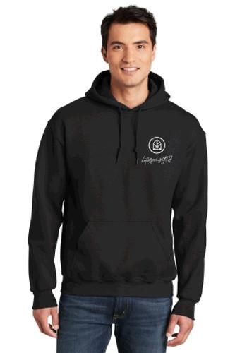 "Adult Cotton Hooded Sweatshirt w/ Printed ""YTH"" Logo LIFESPRING"