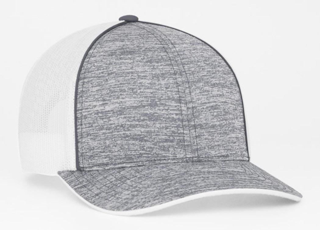 71ce2e7c Pacific Headwear #106C Heather Mesh Snap Back Adjustable Trucker Baseball  Hat   Trucker Baseball Hats