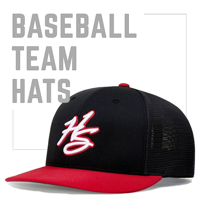 Baseball Team Hats