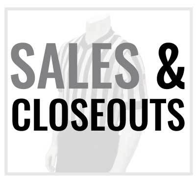 SALES AND CLOSEOUTS