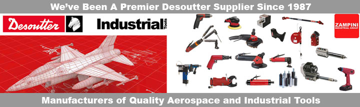 Desoutter Air and Electric Industrial Tools Banner