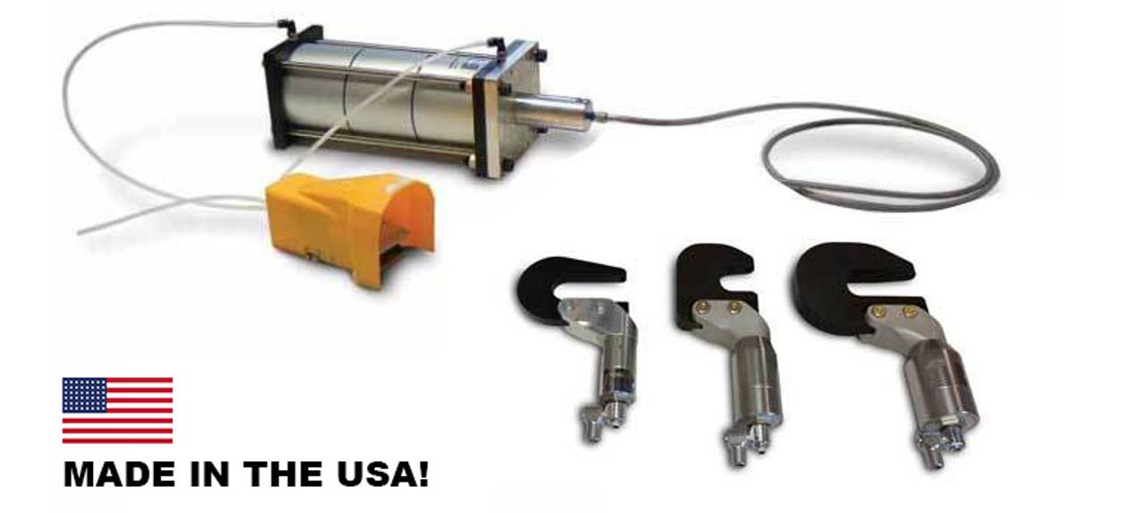 NXS-C4K15 C-Yoke Rivet Squeezer System by Numatx | 1 5 Inch Reach | 3,600  lbs  Force