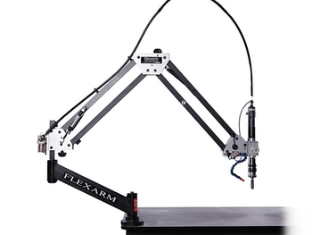 """M-60 Pneumatic Tapping Arms by FlexArm - Up To 3/4"""" Capacity"""