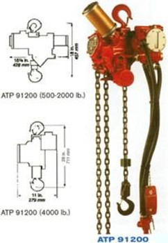 ATP 91200-4MC Air Hoist (ATP 91200-4MC)