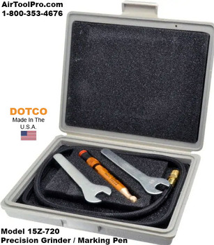 Dotco 15Z-720 Precision Grinder | 20,000 RPM | 1/4 Air Inlet | AirToolPro | Main Image