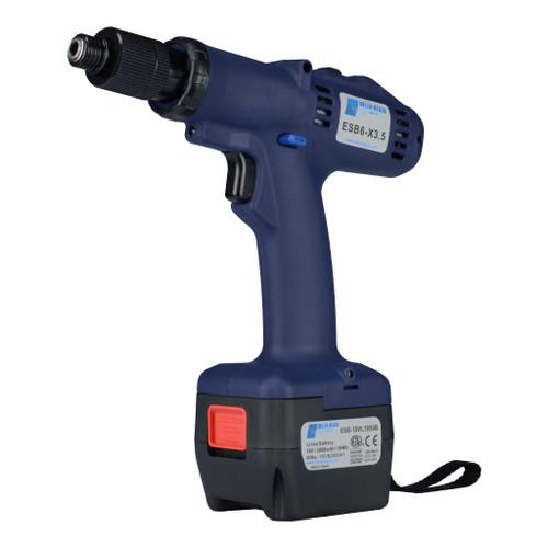 Delta Regis ESB6-X9 Cordless Electric Screwdriver | External Torque Adjustment | 27-79 in.lbs. | 650-1000 rpm