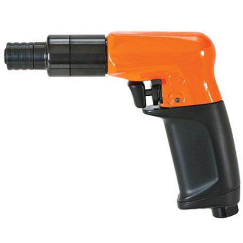 "Cleco 19PTS05Q Air Screwdriver | 45.1-5.1 nm in.lbs. | 155 mmrpm | Stall Clutch | ""P"" Handle 