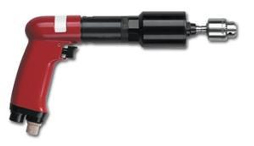 T500-P400 by Desoutter Industrial Tools Pneumatic tapping tool. Pistol grip. .68 HP, 400 RPM free speed, 800 RPM reverse. MAX tapping torque M12 in aluminum, M10 Steel