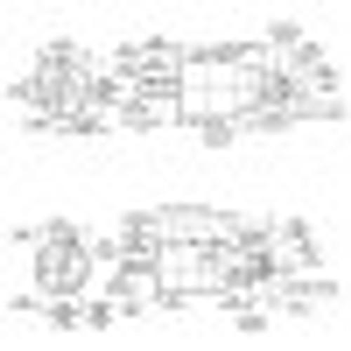 Cleco A2R306M Axial Piston Air Motor   0.6 hp   90 rpm   Reversible
