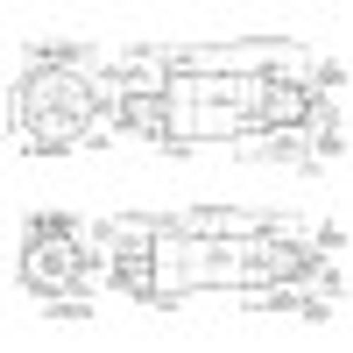 Cleco A6R335M Axial Piston Air Motor   1.9 hp   1030 rpm   Reversible