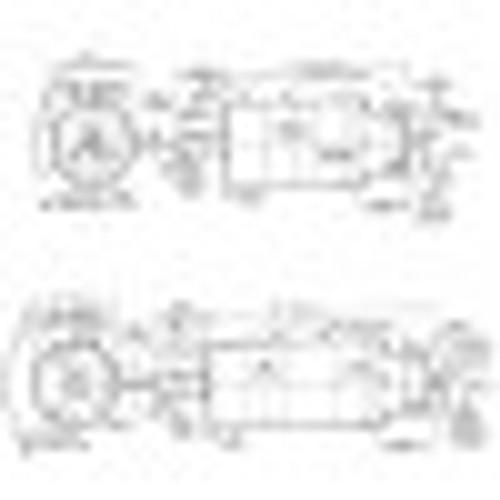 Cleco A8R336M Axial Piston Air Motor   2.7 hp   75 rpm   Reversible