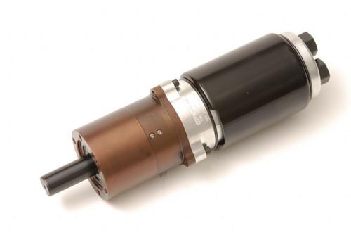 4840D Multi-Vane Air Motor - In-Line Planetary Gear Series by Ingersoll Rand