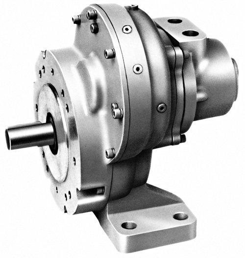 17RB045 Multi-Vane Air Motor - Spur Gear Series by Ingersoll Rand