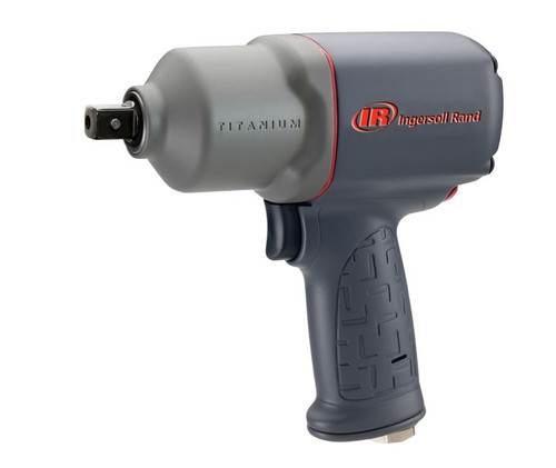 "Ingersoll Rand 2135QPTiMAX Titanium Industrial Duty Impact Wrench - 1/2""  - 780 ft. lbs. image at AirToolPro.com"