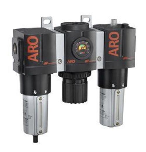 "Ingersoll Rand ARO C38121-820 Filter, Regulator, Lubricator (FRL) 1/4"" NPT | 46 CFM | AirToolPro | Main Image"