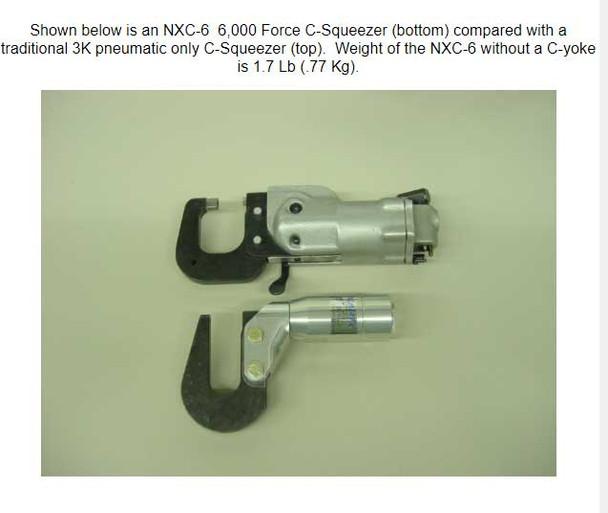 Numatx C-Squeezer Size Comparison