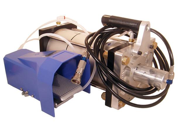 Numatx NXS-C6K3 C Hydropneumatic Rivet Squeezer System Pressure Intensifier