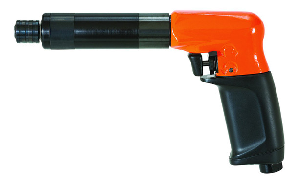 """Cleco 19PCA03Q Air Screwdriver   3-25.7 in.lbs.   1900rpm   """"P"""" Handle   Push and Trigger Start   Pistol Grip"""