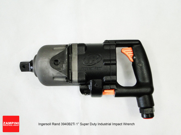 """Ingersoll Rand 3940B2Ti Titanium Super Duty Impact Wrench - 1"""" - Inside Trigger D-Handle - 2500 ft. lbs. image at AirToolPro.com"""