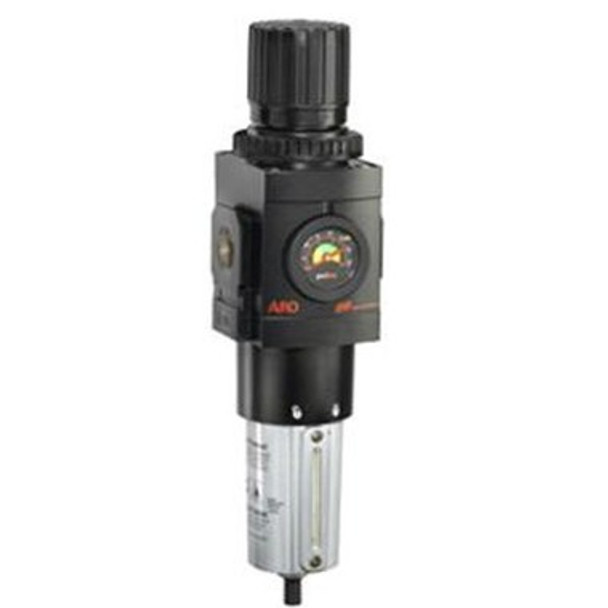 Ingersoll Rand ARO P39344-600 Filter-Regulator (Piggyback) | 1/2'' NPT | 172 CFM | AirToolPro | Main Image