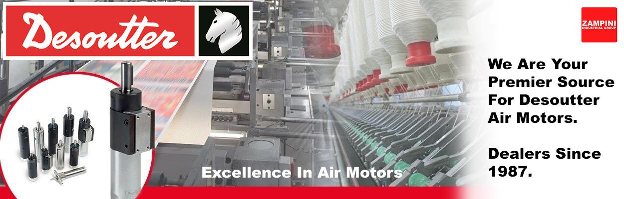 Zampini Industrial Group - Desoutter Air Motor Premier Dealers Since 1987