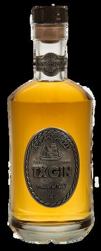 Ocean Aged TX Gin fles
