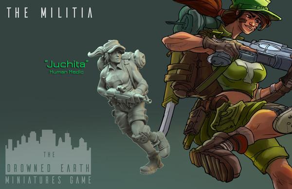 Juchita, Militia Medic