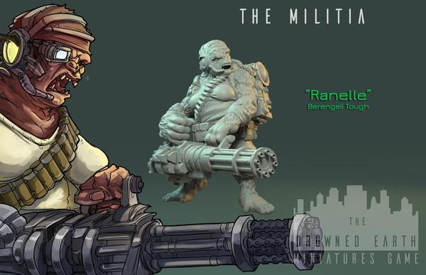 Ranelle, Militia Tough