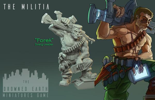 Forek, Militia Leader