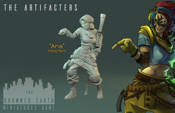 Ana, Artefacter Mech