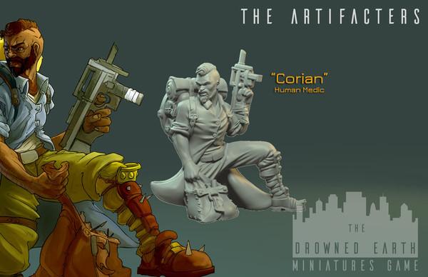 Corian, Artefacter Medic