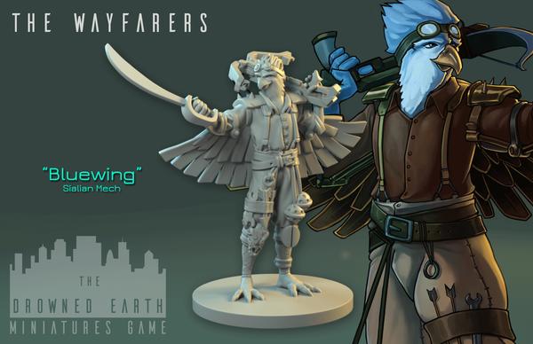 Bluewing, Wayfarer Mech