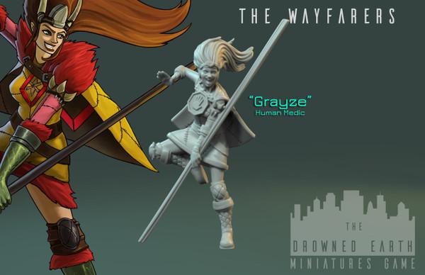 Grayze, Wayfarer Medic