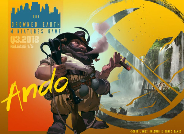 New Releases: Ando the Dino-Hunting Artefacter!!