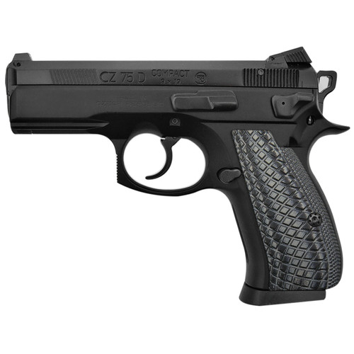 CZ 75 85 Compact Size G10 Gun Grips Snake Scale Texture, Screws Included, SPC-2-5