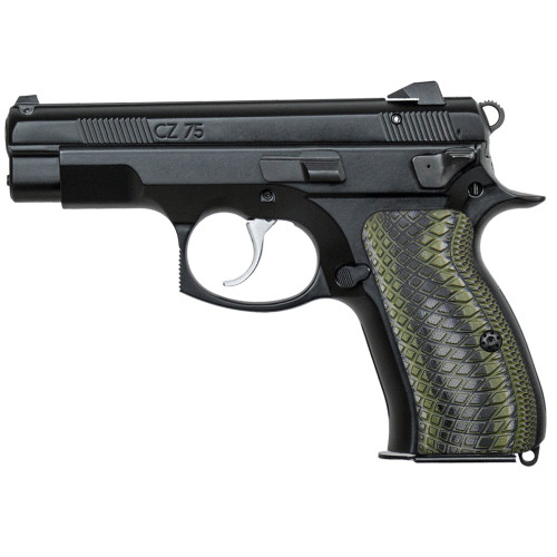 CZ 75 85 Compact Size G10 Gun Grips Snake Scale Texture, Screws Included, H6C-2-21