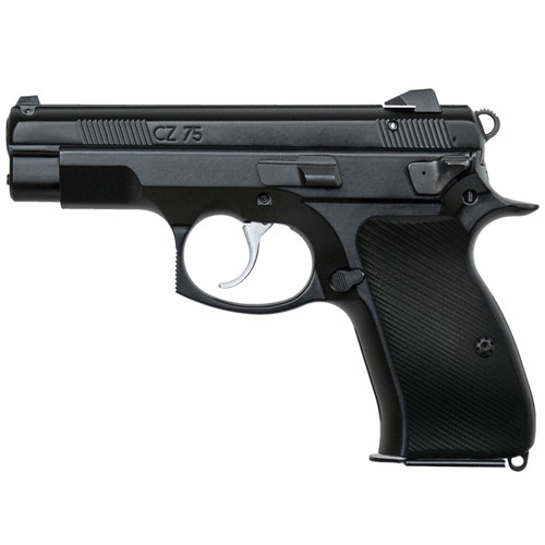 CZ 75 85 Compact Size Palm Swell G10 Gun Grips, Traditional Saw Cut, Screws Included, H6C-T-1