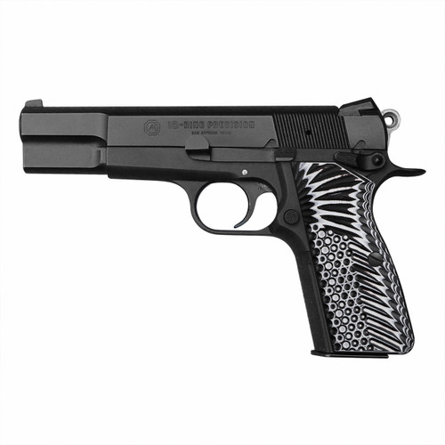 Coolhand Black White Red G10 Gun Grips for Browning Hi Power and Tisas Regent BR9, HP-N1-22