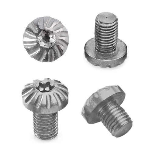Custom 1911 Grip Screws Set, w/ O Rings Torx Key, 1911-2-S