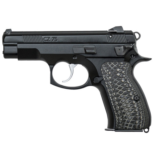 CZ 75 85 Compact Size G10 Gun Grips Snake Scale Texture, Screws Included, H6C-2-5