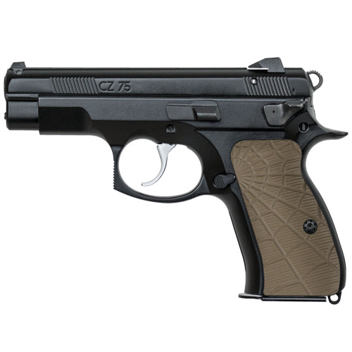 CZ 75 85 Compact Size G10 Gun Grips Spider Web Texture, Screws Included, H6C-W-32