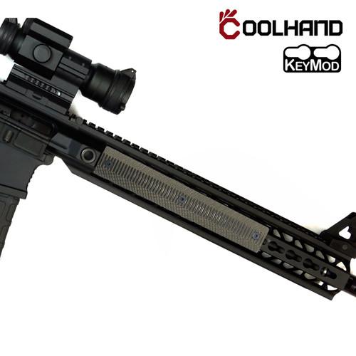 2Pcs 9 Slot G10 Keymod AR Rail Covers Wave Texture RC9-W-24