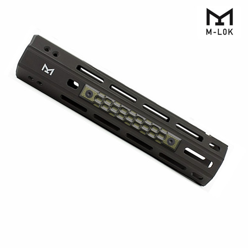 Coolhand M-Lok G10 Rail Grips with Honey Comb Texture Covering 3 Slots, 3pcs/pk, MRC3-J8-21