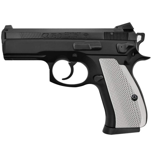 CZ 75 85 Compact Size Aluminum Grips,  Screws Included, SPC-PN-AS