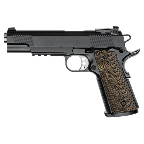 1911 Full Size G10 Gun Grips, OPS Texture, Ambi Safety Cut, Magwell Cut, Screws Included, H1M-JVM-24