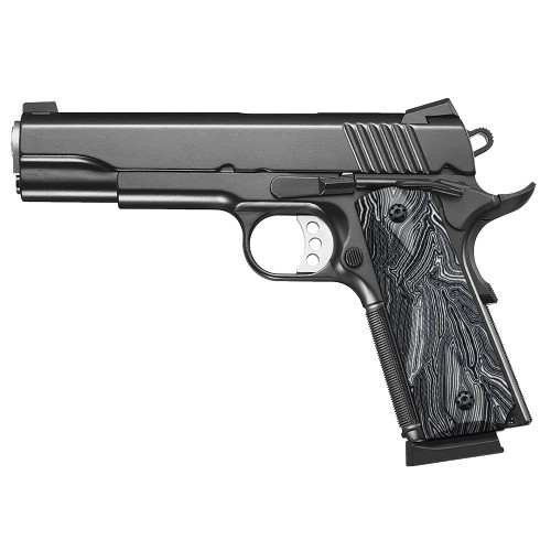 1911 G10 Grips, Full Size, Checker Diamond Cut, Screws Included, Ambi Safety Cut, H1-DC-WD