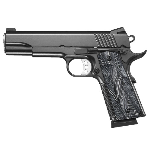 1911 G10 Grips, Full Size, High Polished Surface, Screws Included, Ambi Safety Cut, H1-S-WD