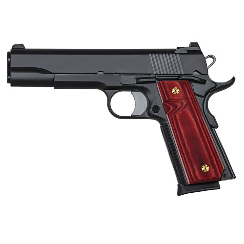 1911 Slim Full Size  Gun Grips, High Polished Wood, Screws Included, H1S-S-C